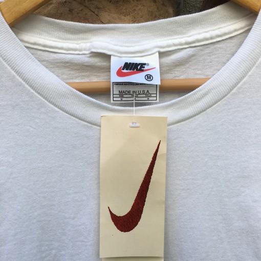 90's Nike Puff logo T shirt size medium