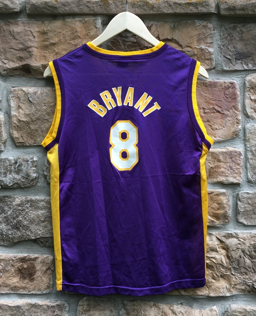purchase cheap d70de f8bfa 2001 Kobe Bryant Los Angeles Lakers Champion NBA Jersey Youth Large