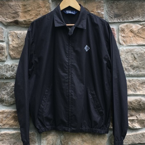 vintage early 90's Polo Ralph Lauren Monogram jacket