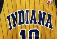 1999 Jeff Foster Indiana Pacers Champion NBA jersey yellow replica size 40 medium