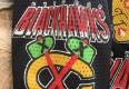 90's Chicago Blackhawks CCM NHL black mesh practice jersey size large