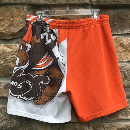 90's Cleveland Browns Chalkline Fanimation shorts size large
