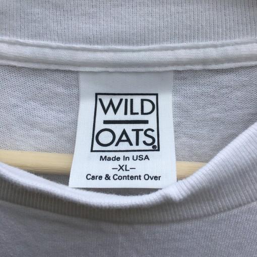 90's Wild Oats deadstock wrestling t shirt
