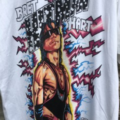 1993 Bret Hart Hitman WWF T shirt deadstock size XL