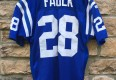 1995 Indianapolis Colts Marshall Faulk Authentic Wilson Pro Line jersey size 46 large