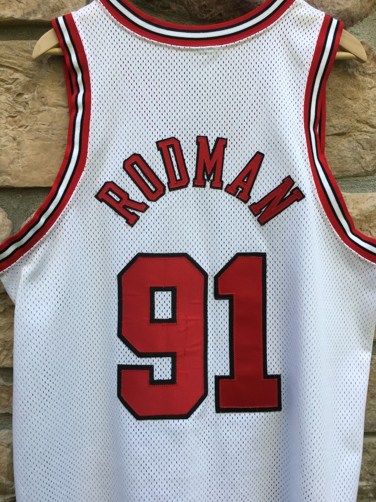buy online 0859c 064c4 1998 Dennis Rodman Chicago Bulls Nike Authentic NBA Jersey Size 44