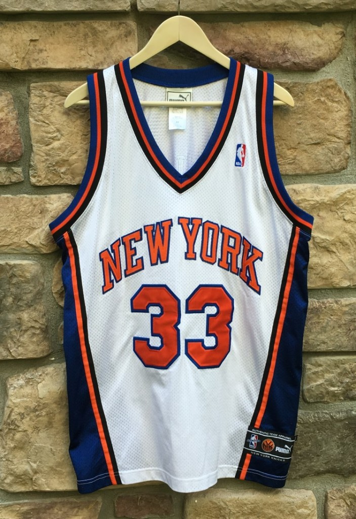 new concept 71b85 81e99 1999 Patrick Ewing New York Knicks Puma Authentic NBA Jersey Size 44