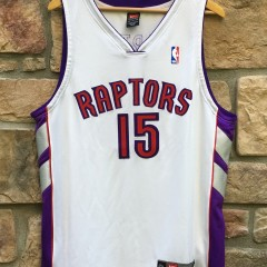 2000 Vince Carter Authentic Toronto Raptors Nike Dri Fit Jersey size 48 XL