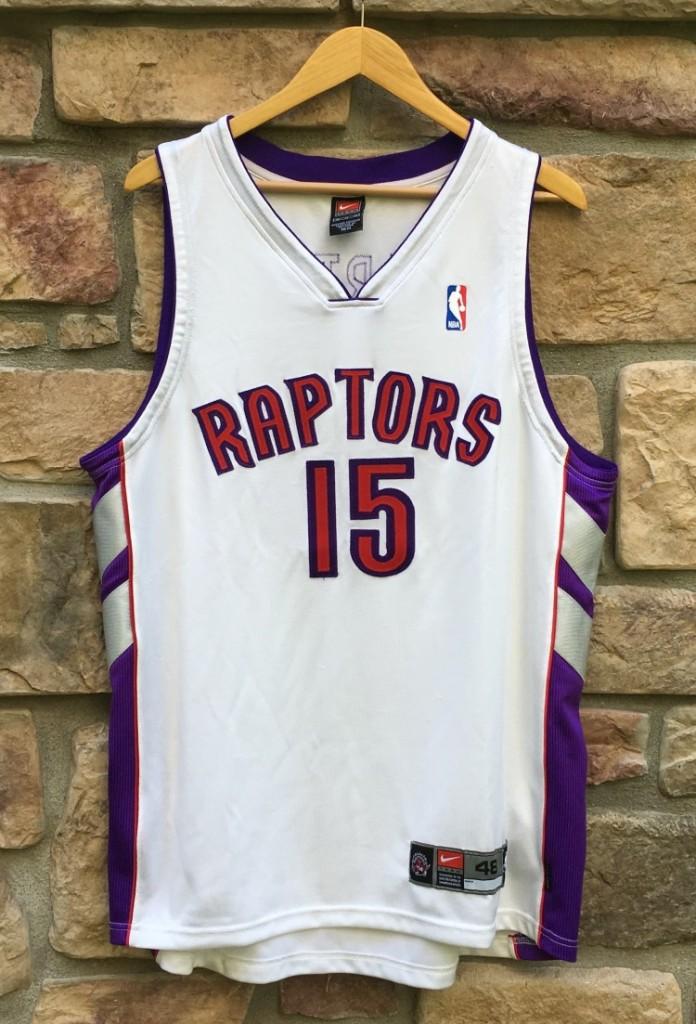 huge selection of ba2f8 65a66 2000 Vince Carter Toronto Raptors Nike Authentic NBA Jersey Size 48