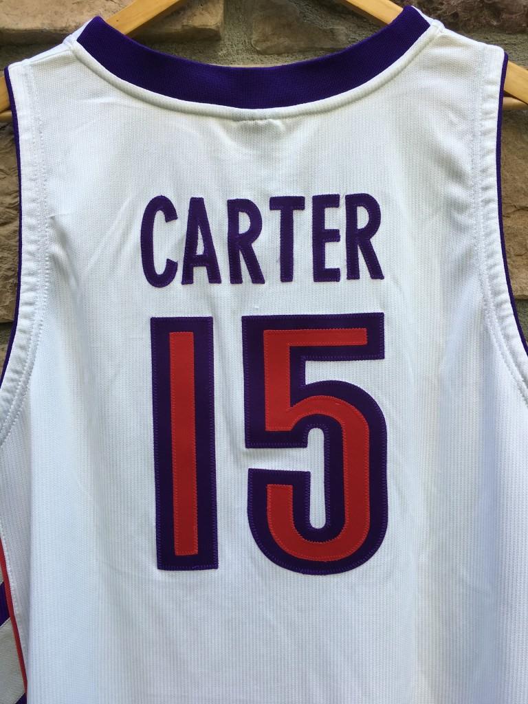 a3e93aedd6b 2000 Vince Carter Authentic Toronto Raptors Nike Dri Fit Jersey size 48 XL