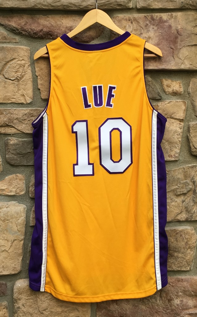 5d8fb3631b6 2001 NBA Finals Authentic Tyrone Lue Los Angeles Lakers Nike Authentic  Jersey size 44 Large