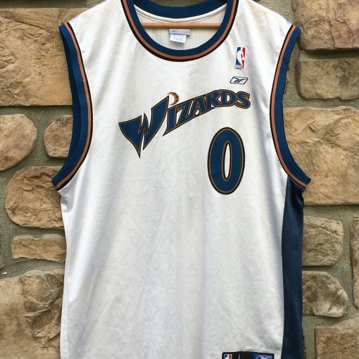 2003 Gilbert Arenas Washington Wizards Reebok NBA Jersey size large