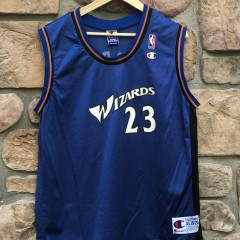 2001 Michael Jordan Washington Wizards Champion NBA jersey youth XL