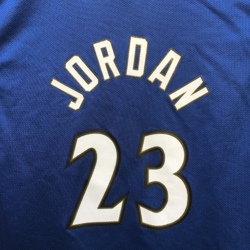 2001 Michael Jordan Washington Wizards Champion NBA jersey youth XL