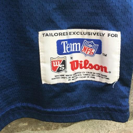 1995 Dallas Cowboys Troy AIkman Wilson alternate nfl jersey size xl xxl