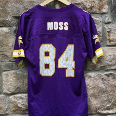 1998 Randy Moss Minnesota Vikings Champion NFL jersey youth size large