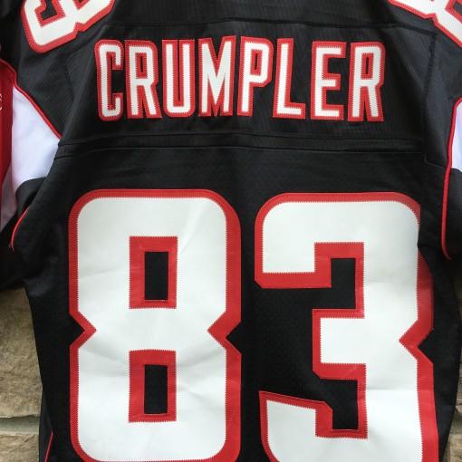 2003 Alge Crumpler Atlanta Falcons Reebok Swingman NFL Jersey size small black