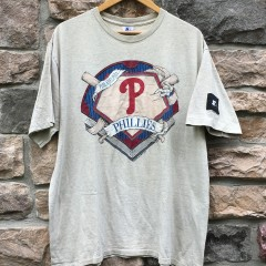 1993 Philadelphia Phillies Starter MLB T shirt size XL