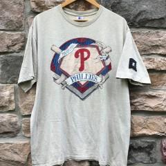 1993 Philadelphia Phillies Starter MLB T shirt size XL