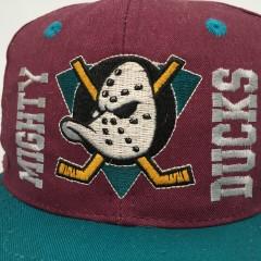 vintage 90's Anaheim Mighty Ducks ANNCO NHL Snapback hat