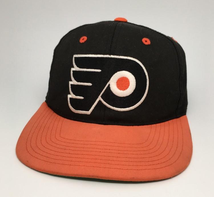 vintage 90 s Philadelphia Flyers Sports Specialties Plain Logo Snapback hat 87594d78b