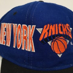 vintage 90's New York Knicks Starter Tri Power Snapback Hat deadstock