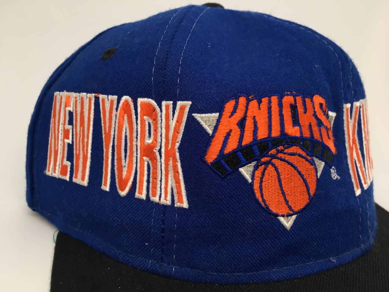vintage 90 s New York Knicks Starter Tri Power Snapback Hat deadstock 735e864465f7
