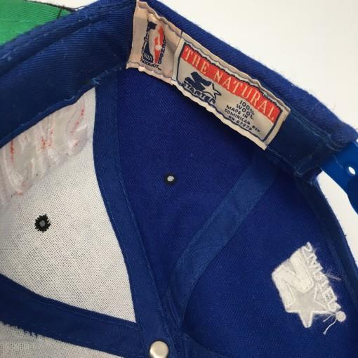 vintage 90's New York Knicks Starter Tri Power Snapback Hat deadstock