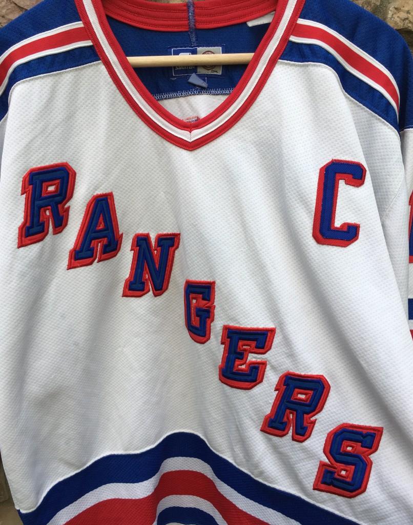 623bc8e30 1996 Mark Messier New York Rangers Starter NHL Jersey Size Large ...