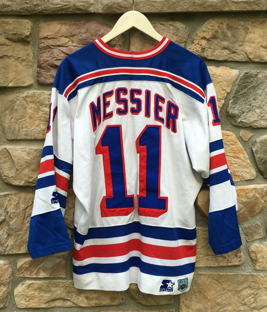 1996 Mark Messier New York Rangers Starter NHL Jersey Size Large ... dc394d0d7