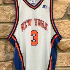 1996 John Starks New York Knicks Starter NBA jersey size 54 XXL