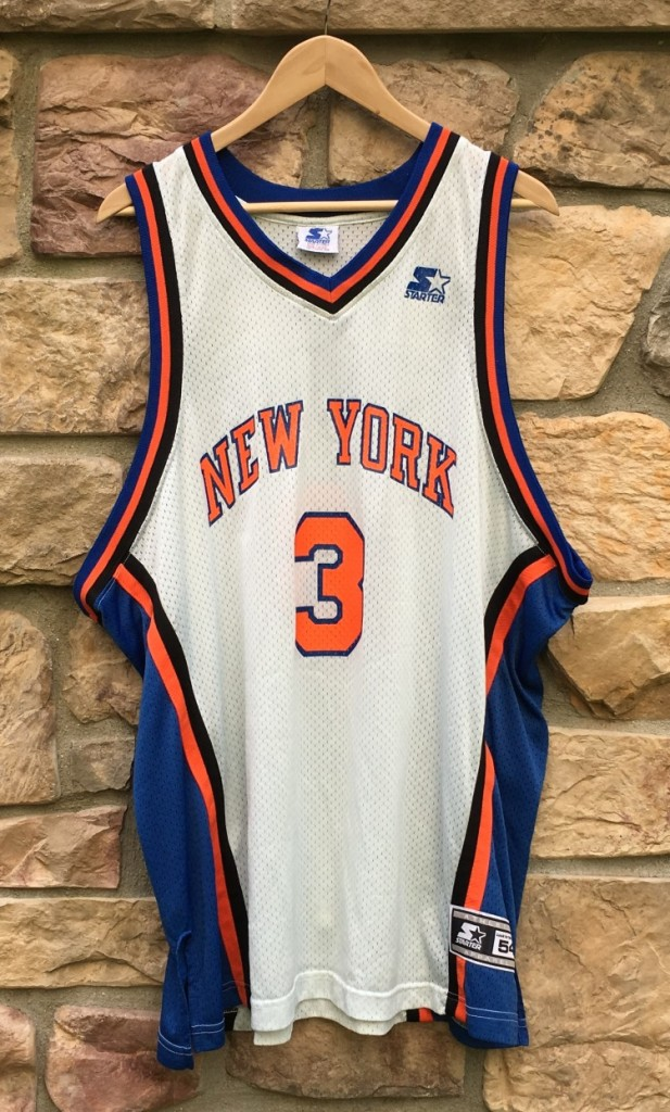 official photos 0e0d8 124b0 1997 John Starks New York Knicks Starter NBA Jersey Size XXL