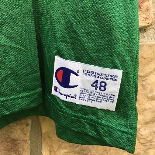 1996 Dee Brown Boston Celtics Champion NBA jersey size 48 XL