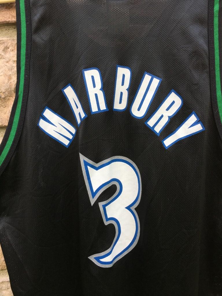 low priced 2e024 385c5 1997 Stephon Marbury Minnesota Timberwolves Champion NBA Jersey Size 48