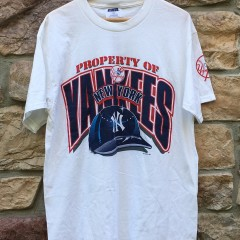 deadstock brand new 1998 New York Yankees property of MLB t shirt size Large