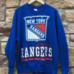 vintage 90's New York Rangers Salem NHL Crewneck sweatshirt size large