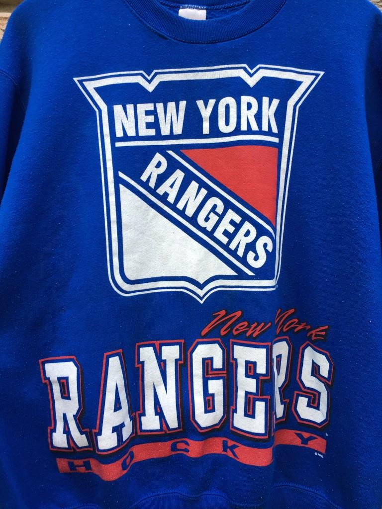 f48450e99 vintage 90 s New York Rangers Salem NHL Crewneck sweatshirt size large