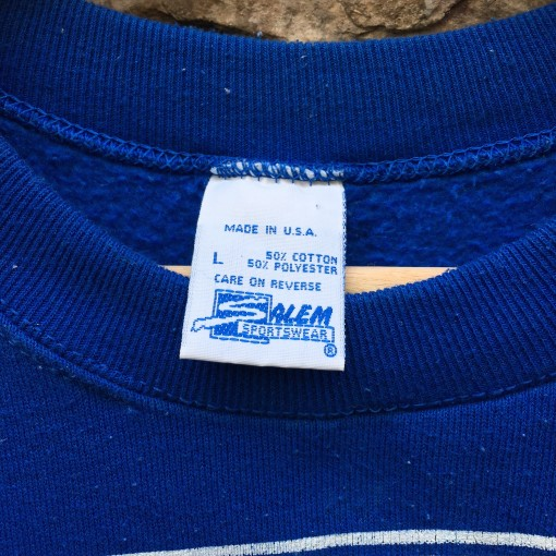 vintage 90's New York Rangers Salem NHL Crewneck sweatshirt size large