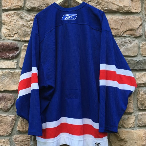 2006 Authentic New York Rangers Reebok CCM NHL Jersey size 54 fight strap brand new