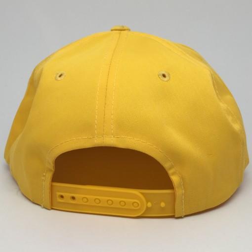 90's Tampa Bay Devil Rays Yellow MLB Snapback hat cap