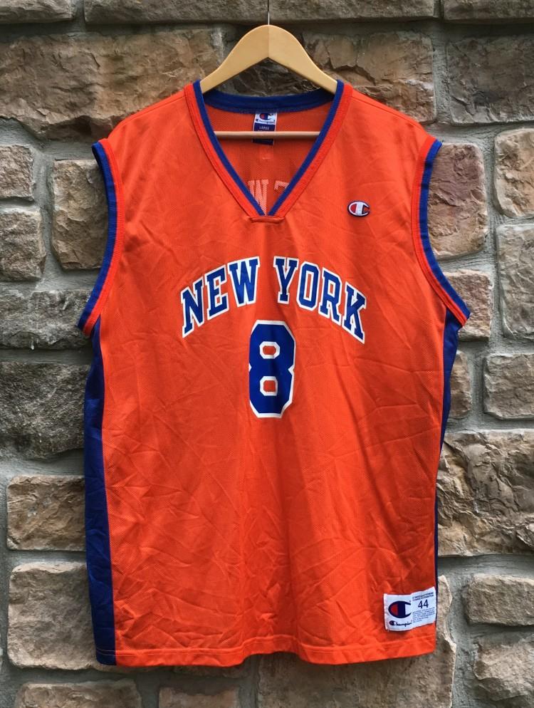 pretty nice 4b139 97cc8 2001 Latrell Sprewell New York Knicks Champion NBA Jersey Size 44