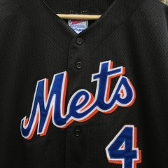 1999 Robin Ventura New York Mets Majestic Diamond Collection Authentic MLB jersey size XL