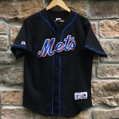 2003 Tom Glavine New York Mets Majestic MLB jersey size Medium