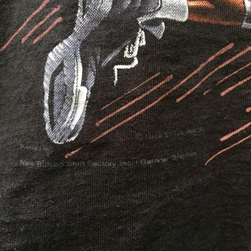 vintage 1991 Michael Jordan Salem Sportswear Chicago Bulls cartoon caricature t shirt youth size XL