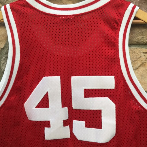 90's Andre Patterson University of Indiana Hoosiers starter authentic NCAA basketball jersey size large