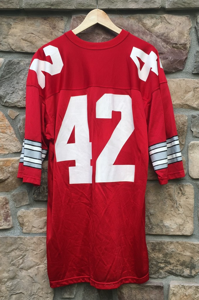 real ohio state jersey