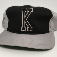 90's los angeles kings starter NHL snapback hat heather pinwheel deadstock