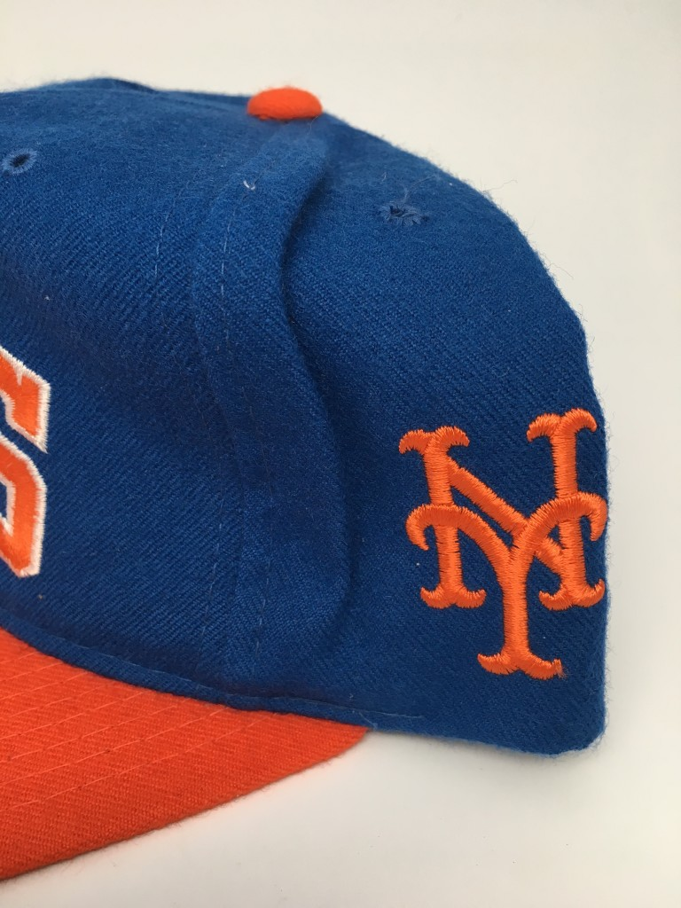 sale retailer 9cab7 3aa9a ... cap  90s new york mets starter arch mlb snapback deadstock