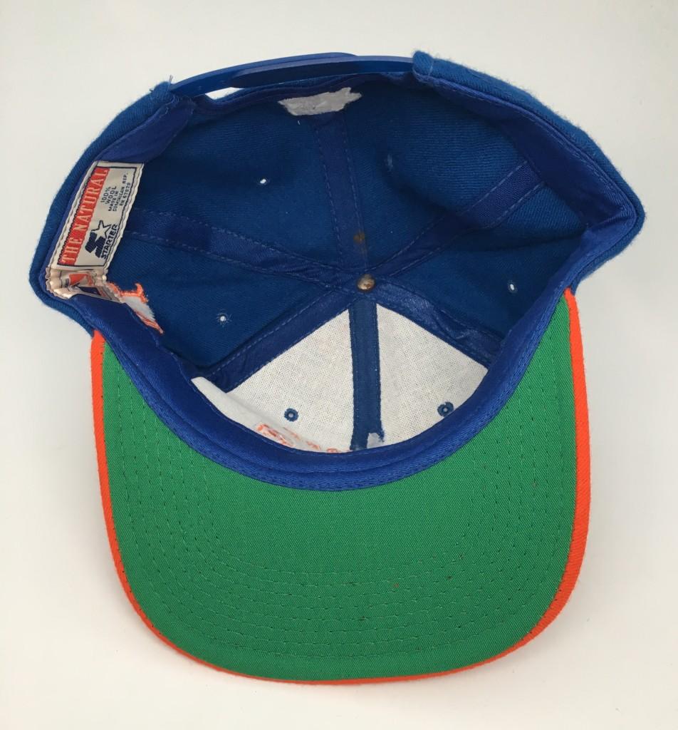 9e68fc2e 90's New York Mets Starter Arch MLB Snapback Hat | Rare Vntg