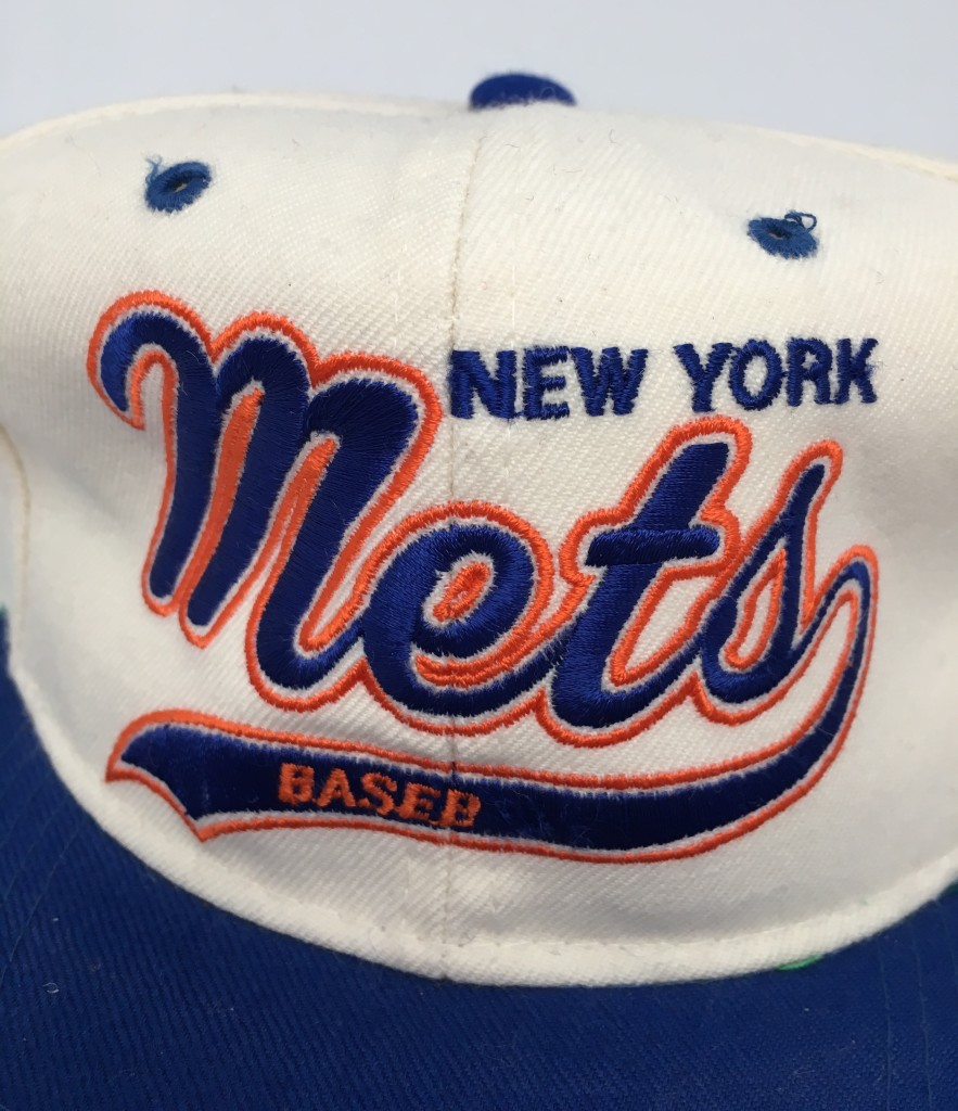 9c2a006058137 90 s new york mets starter script MLB snapback hat deadstock